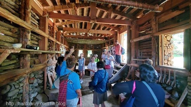金岳社區泰雅編織屋