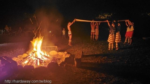 金洋部落營火晚會