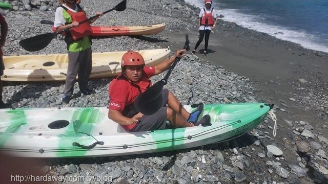 東澳獨木舟體驗