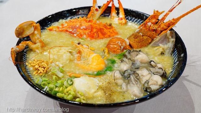 霸氣神仙打架海鮮粥