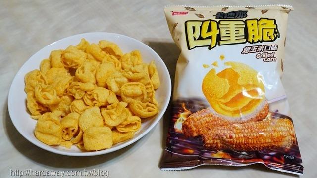 聯華食品卡廸那四重脆烤玉米口味