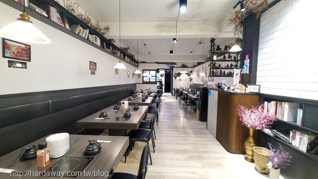 武鶴和牛火鍋新莊店內部空間