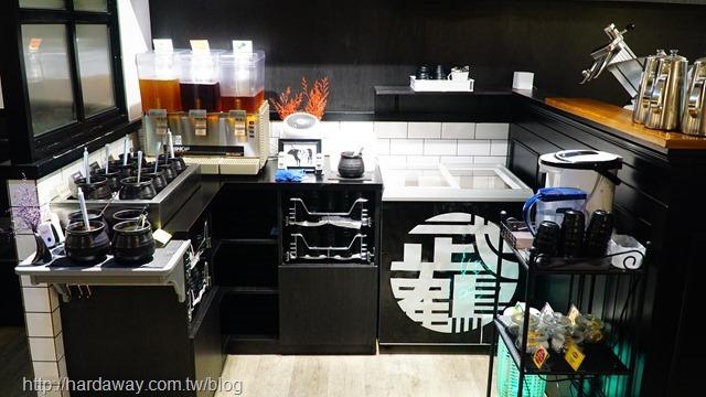 武鶴和牛火鍋新莊店自助區