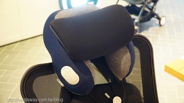 HODA好貼主動式降噪藍牙耳機記憶頸枕