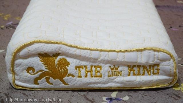泰國THE LIONKING純天然乳膠枕