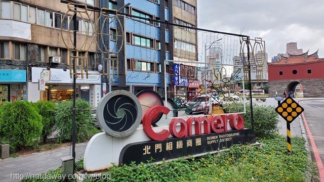 台北市特色商圈北門相機街