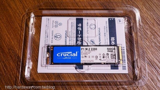 Micron Crucial P1 NVMe PCIe SSD