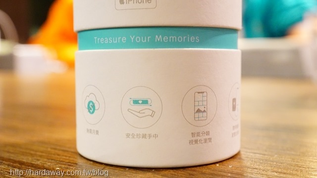 TimeArk-LivCore相簿精靈iPhone專用外接硬碟
