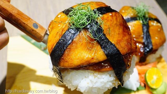 蒲燒腹排壽司