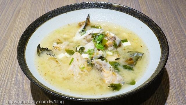 鮭魚頭味增湯