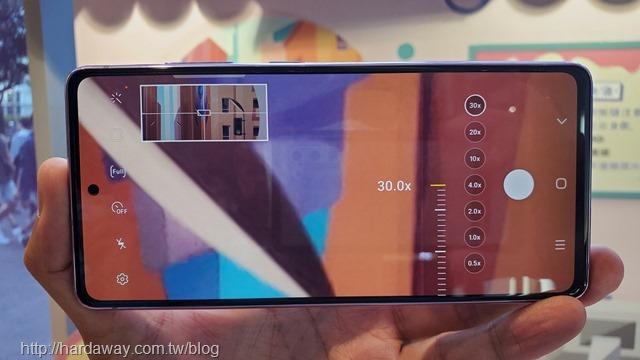 Samsung Galaxy S20 FE主相機