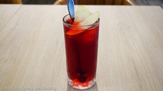 蔓越莓蘋果冰茶