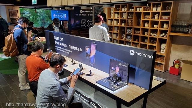 Motorola手機上市記者會