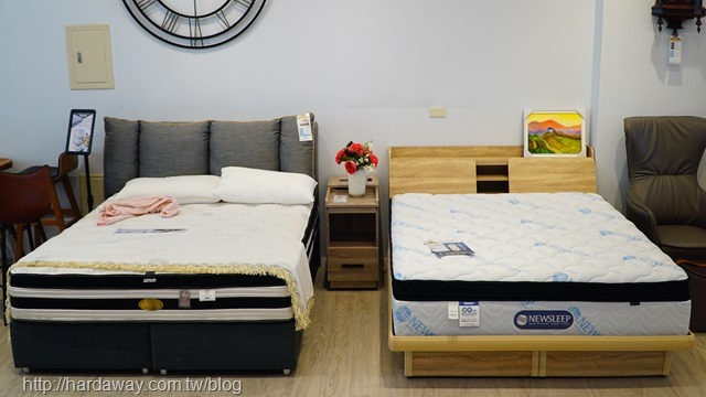 日本直人木業維新護脊床墊