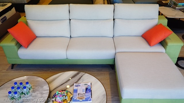 日本直人木業Boss L型沙發