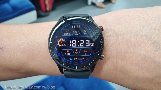 Amazfit GTR 2智能手錶螢幕
