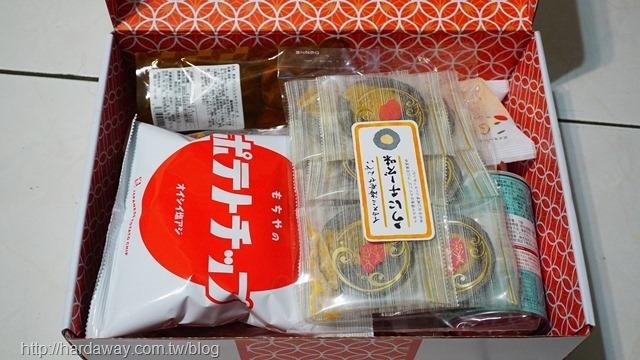 WOWBOX都府良巡Premium菓盒