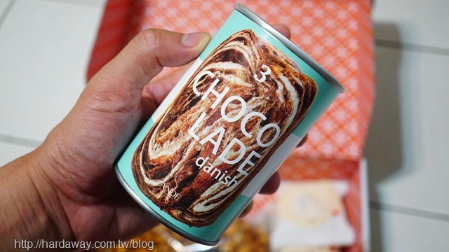 Ande丹麥麵包巧克力風味