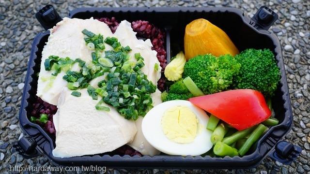 油蔥舒肥雞胸餐盒