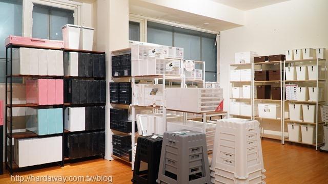 凱堡家居門市收納商品