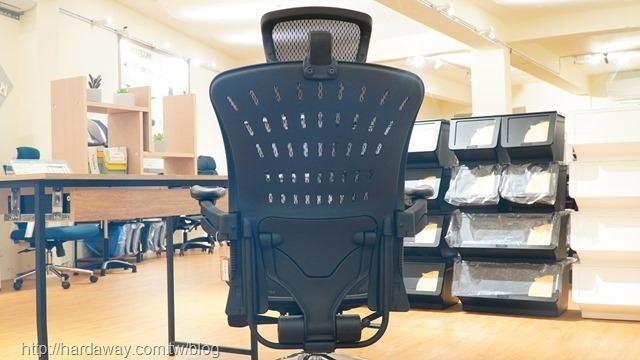 凱堡家居人體工學電腦椅