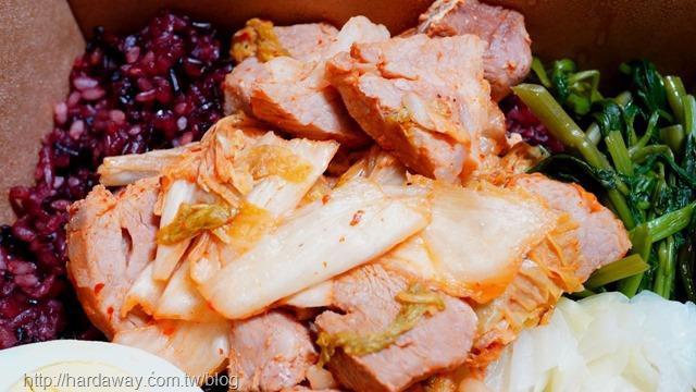 韓式泡菜豬小里肌