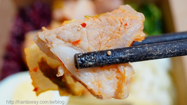 韓式泡菜豬小里肌口感
