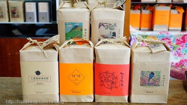 一茶工房茶葉產品