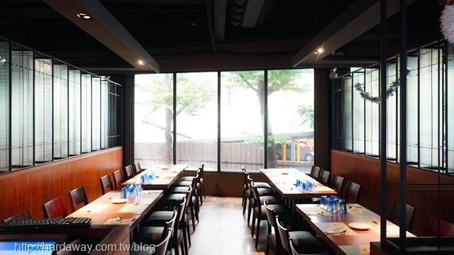 墨尼尼義大利餐廳用餐空間