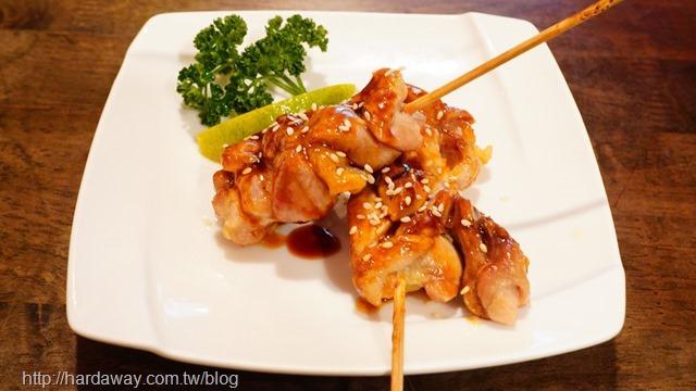築也日本料理烤雞肉串