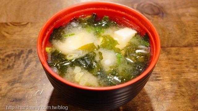 築也日本料理味增湯