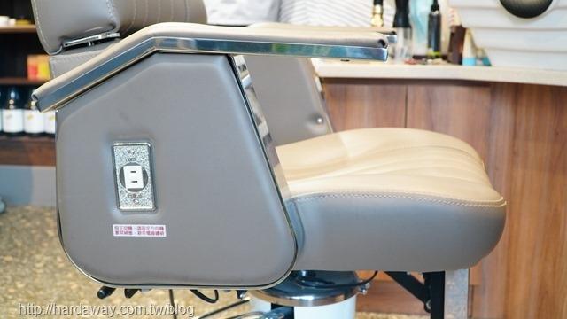 70牌美髮椅插座設置
