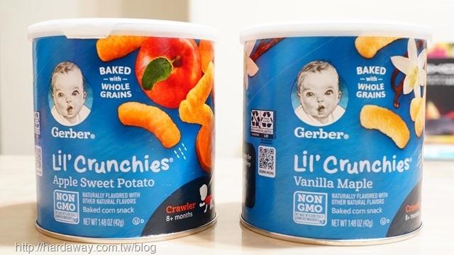 Gerber Lil'Crunchies穀類零食