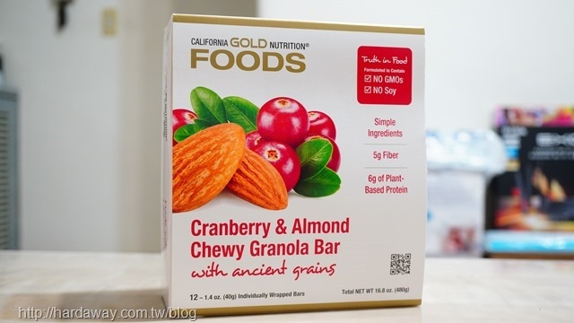 California Gold Nutrition食品零食營養條