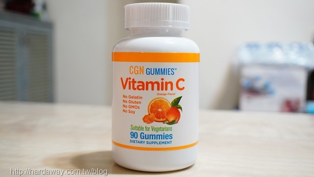 California Gold Nutrition維生素C軟糖