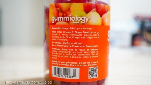 Gummiology成年人蘋果醋軟糖