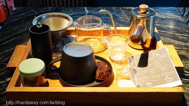 燧人炊事手沖單品咖啡