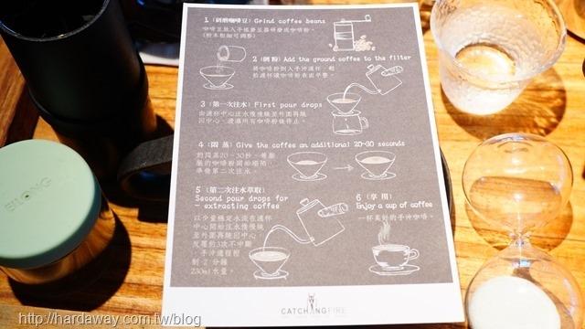 手沖單品咖啡步驟