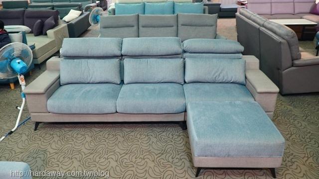 巴菲特L型沙發