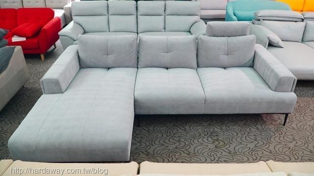 保羅L型沙發