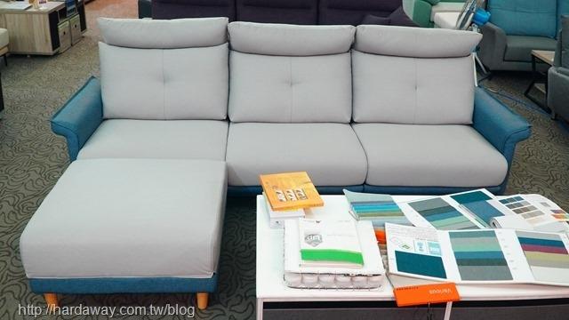 米奇L型沙發