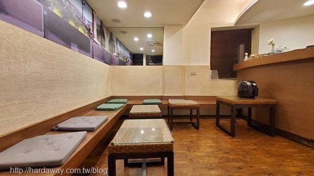 月憩咖啡館休息區