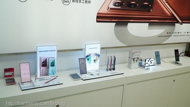 Samsung手機實機展示