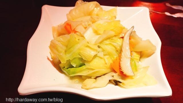 完鍋子熱炒清炒高麗菜