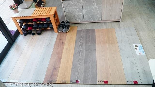 直人木業地板產品