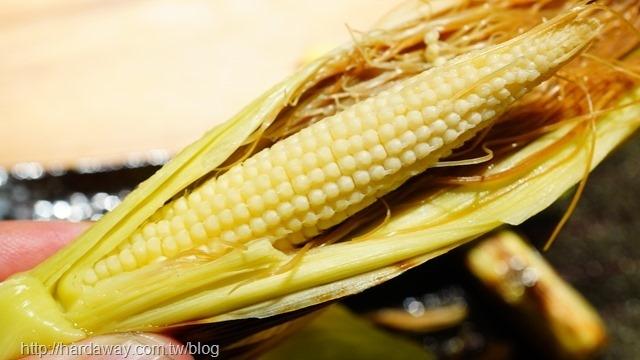 炙燒玉米筍
