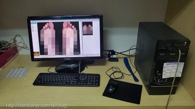 3D掃描雙足