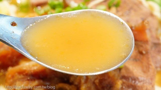 神仙牛肉麵清燉湯頭