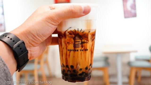 黑沃咖啡黑糖黑玉拿鐵