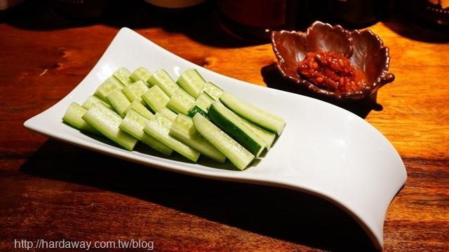 酌九壽司居酒屋味增小黃瓜